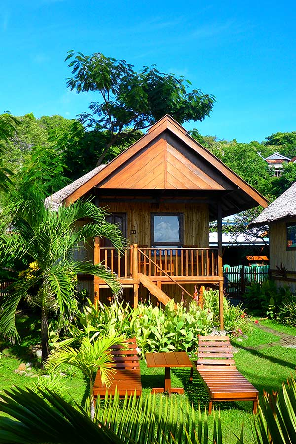 Deluxe Bungalows in Bira Beachfront Hotel Relax in Style
